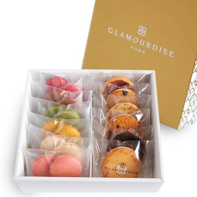神戸スイーツ GLAMOURDISE(グラモウディーズ) サブレ&マカロンクッキー