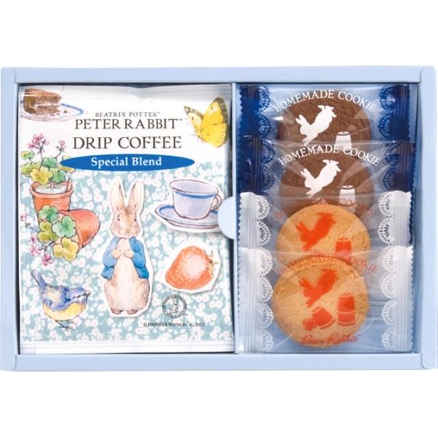 PETER RABBIT/ ピーターラビットTM コーヒー&スイーツギフト PSG-5 洋菓子 神戸スイーツ 焼き菓子詰め合わせ