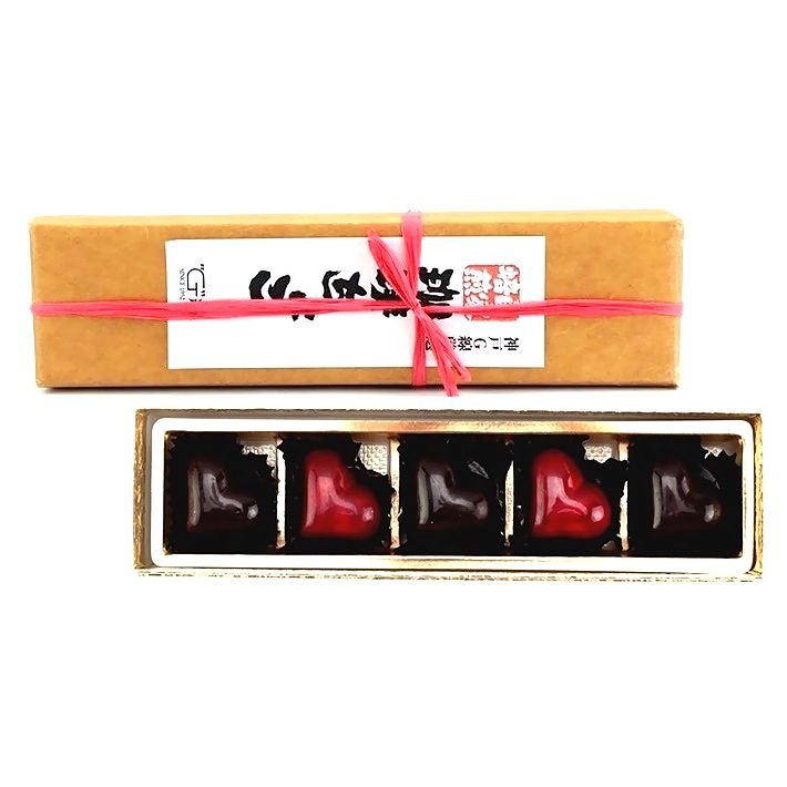 【2021バレンタインチョコ特集】G線 自家焙煎珈琲チョコ 5個入《要冷蔵》