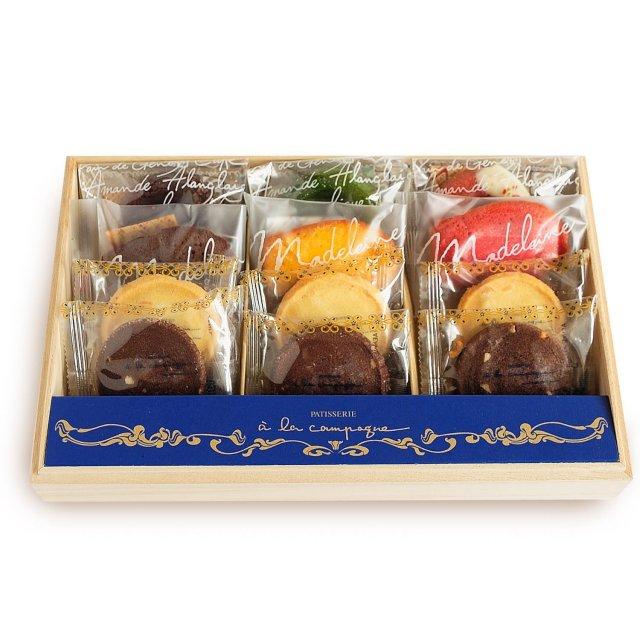 神戸スイーツ a la campagne (アラカンパーニュ) 焼き菓子詰合せ ガトー・アソルティ・ミリュー