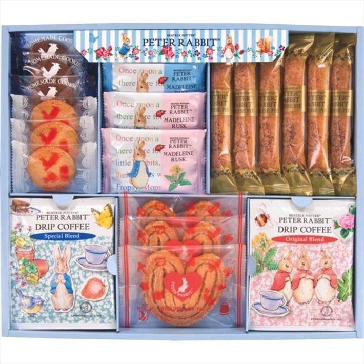 PETER RABBIT/ピーターラビットTM コーヒー&スイーツギフト PSG-20 お菓子 洋菓子 神戸スイーツ 焼き菓子詰め合わせ