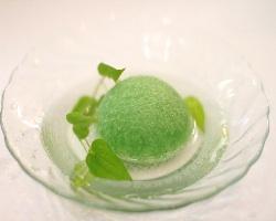 アレンス洗顔スポンジ 緑茶 丸型