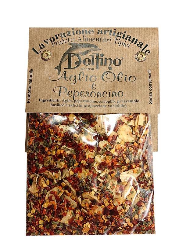 delfino spice ペペロンチーノスパゲッティの素