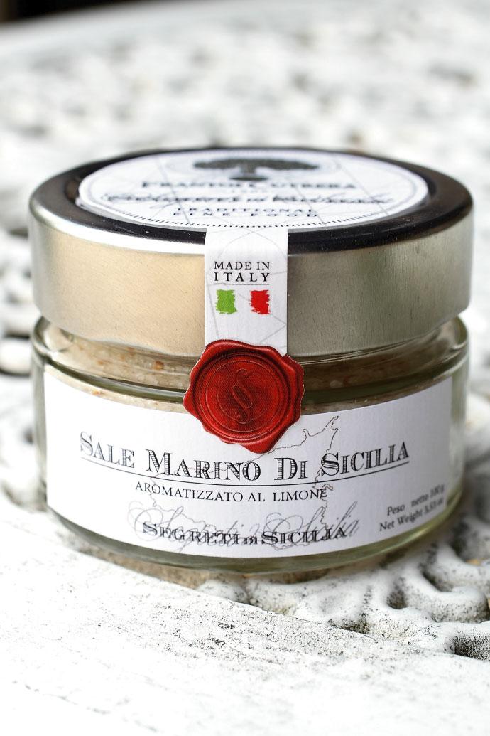 レモンソルト フラントイ・クトレラ社 100g シチリア イタリア産 (Italian Lemon Sicilia salt by Frantoi Cutrera) 商品