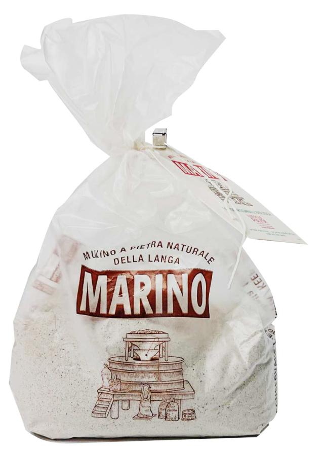 そば粉 石臼挽き ムリーノ・マリーノ社 イタリア産 (Italian Buckwheat flour by Mulino Marino)