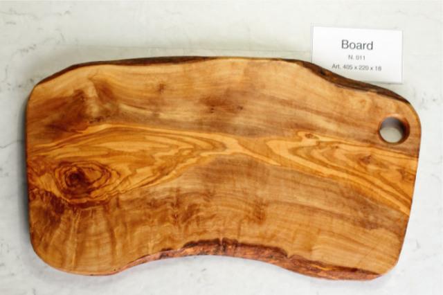 カッティングボード No.11 アルテレニョ社 イタリア製 (Italian Cutting Board made by Arte Legno Olive Wood) 商品