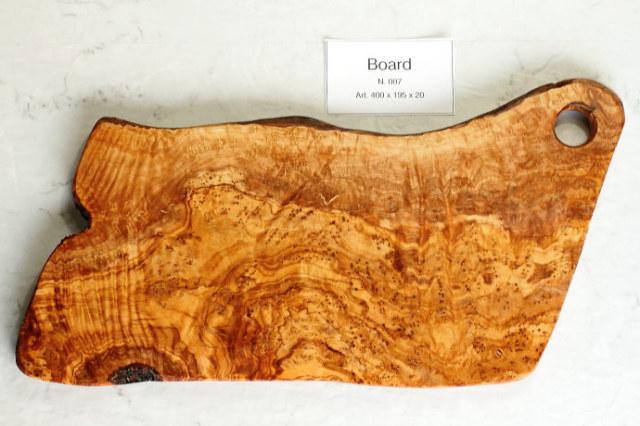 カッティングボード No.7 アルテレニョ社 イタリア製 (Italian Cutting Board made by Arte Legno Olive Wood) 商品
