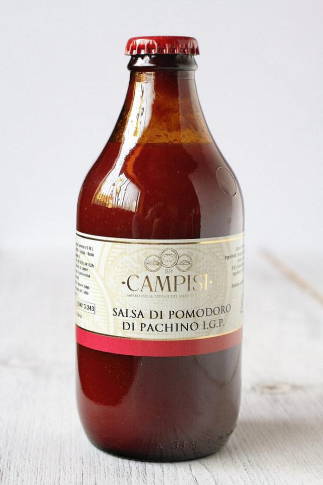 パキーノ・チェリー・トマトソース Campisi社 イタリア産 (Italian Pachino Cherry Tomato Sauce) 商品