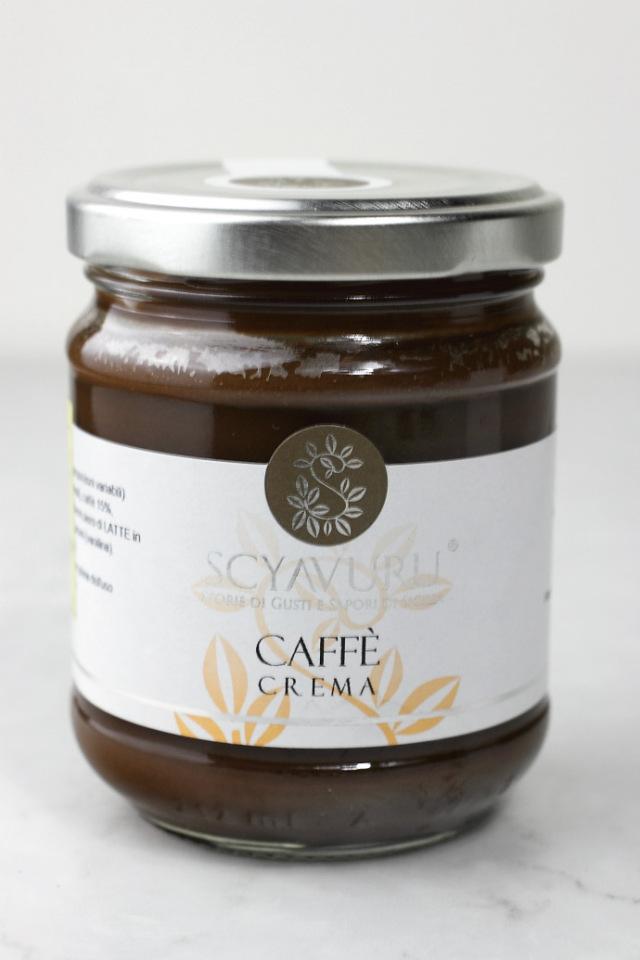 コーヒークリーム シャブル社 イタリア産 (Italian coffee cream by Scyavuru) 商品