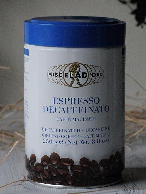 エスプレッソ・デカフェイナート Espresso Decaffeinato