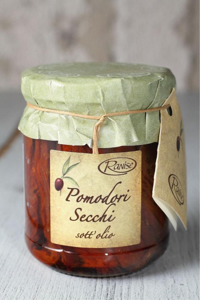 ドライトマトのオリーブオイル漬け 200g ラニーゼ社 イタリア産 (Italian dry tomato  in olive oile by Ranise) 商品