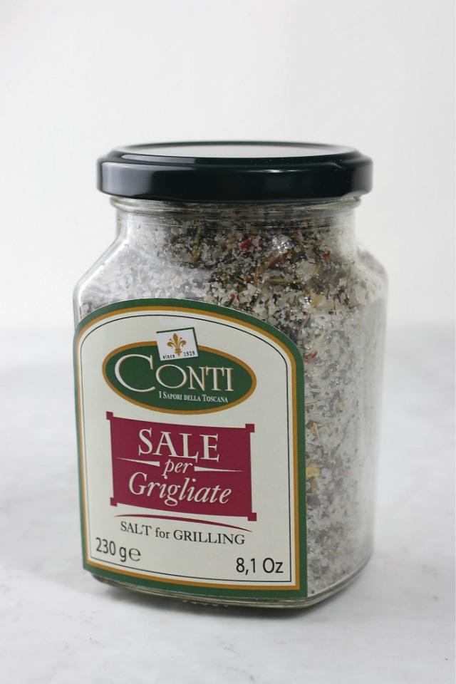 ハーブソルト サーレ グリリアータ コンティ社 イタリア産 (Italian harb salt Sale grigliate for grilling by conti) 商品