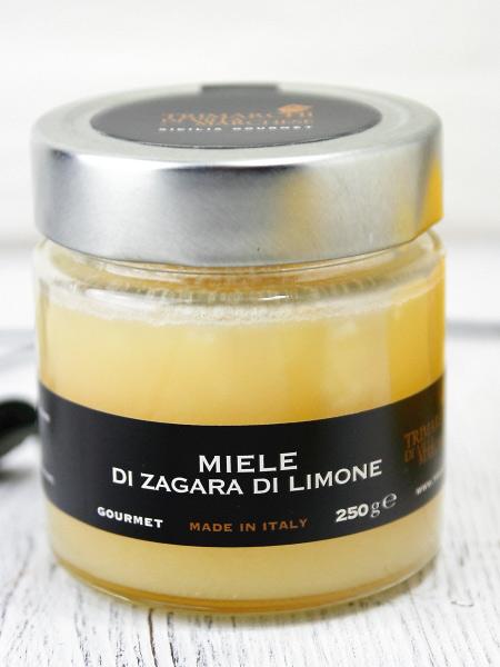 シチリア産レモンのハチミツ(lemon honey)の商品写真