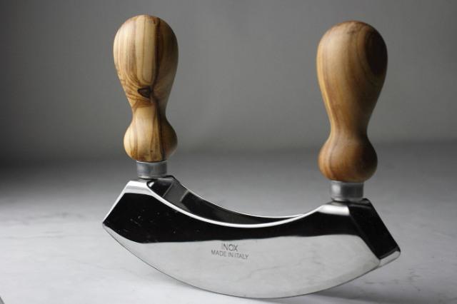 メッツァルーナ アルテレニョ社 イタリア製 (Italian Mezzaluna made by Arte Legno) 商品