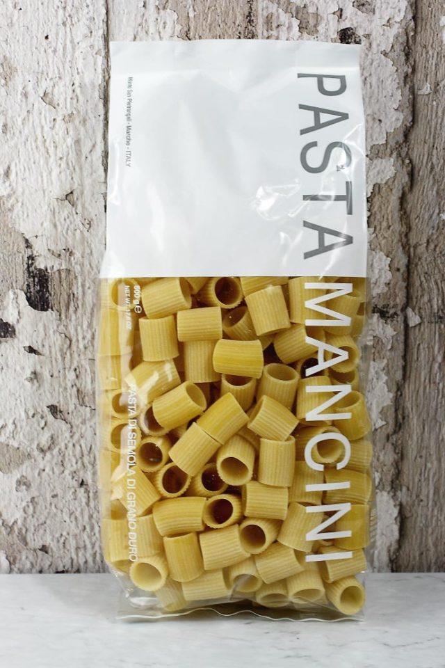 メッツェマニケ パスタマンチーニ社 イタリア産 (Italian Mezze Maniche by Pasta Mancini) 商品