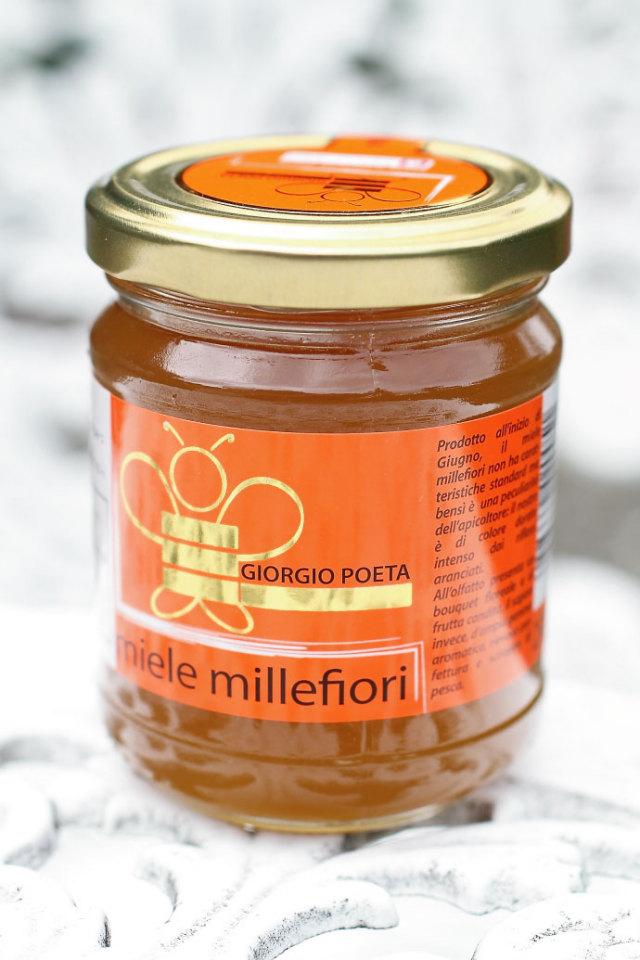 ハチミツ ミッレフィオーリ ジョルジオ・ポエタ社 イタリア産 (Italian Millefiori honey by Giorgio Poeta) 商品