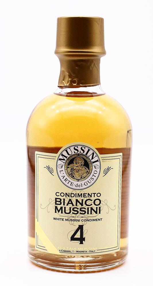 ホワイトバルサミコ酢 ムッシーニ社 イタリア産