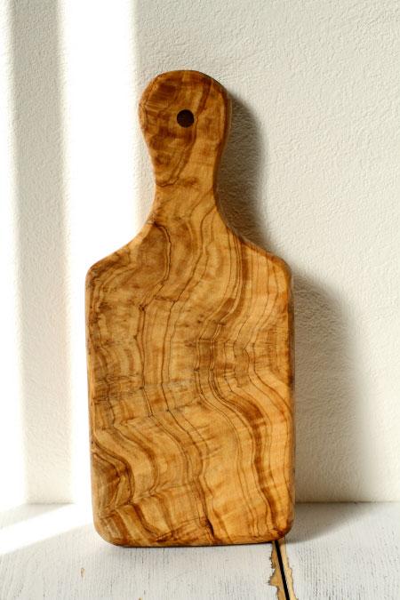 オリーブの木 カッティングボード サイズ:S