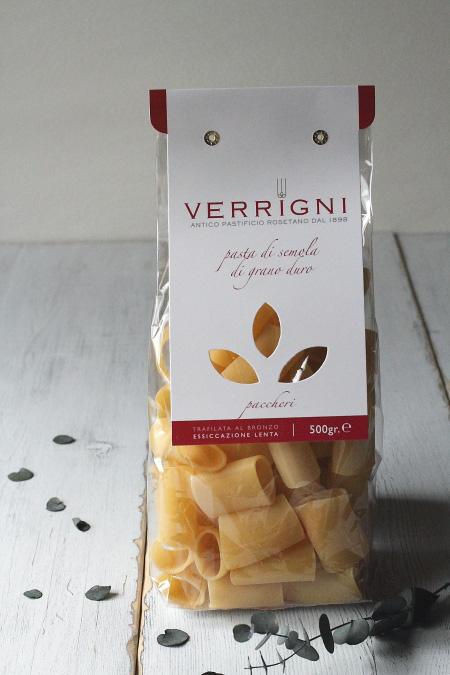パッケリ ベリーニ (paccheri Verrigni) 商品