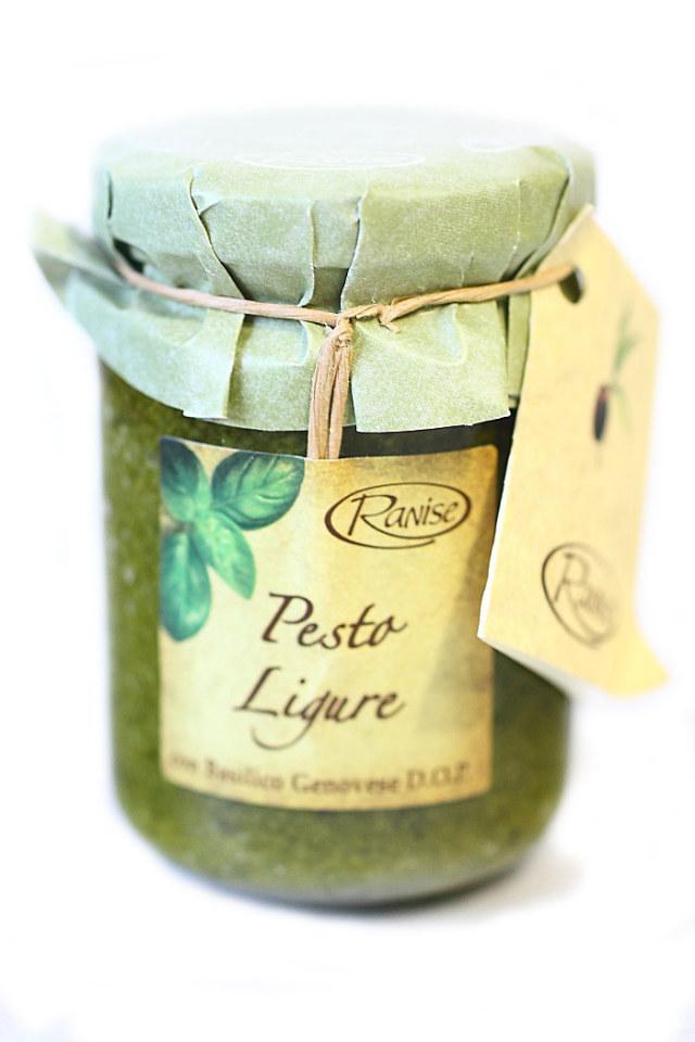 イタリア産 バジルペースト ジェノベーゼソース ラニーゼ社 (Italian basil paste by ranise)