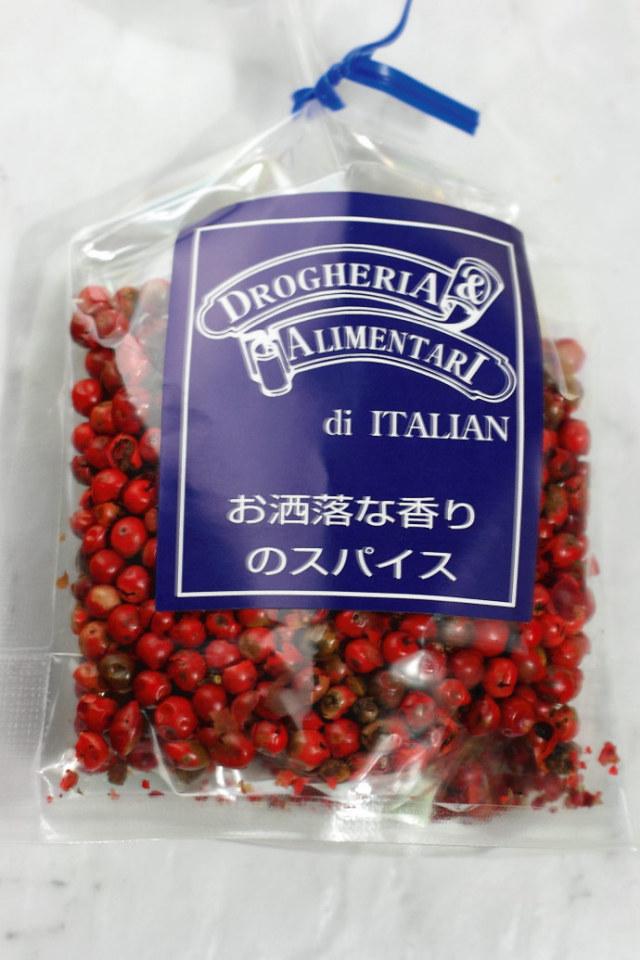 ピンクペッパー  ドロゲリア アリメンターレ社 イタリア産 (Italian pink pepper by DROGHERIA & ALIMENTARI) 商品