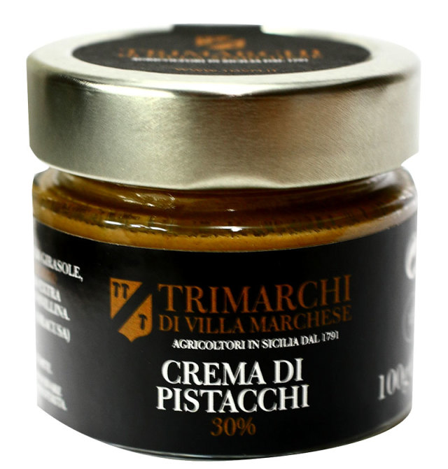 ピスタチオクリーム トリマルキ社 イタリア・シチリア産 (Italian Pistachio cream by Trimarchi)