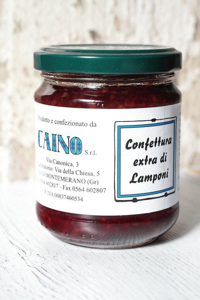 木いちご ジャム カイーノ社 イタリア産 (Italian Raspberry jam by Caino) 商品