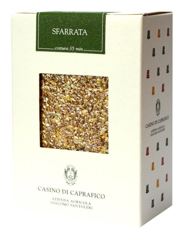 スファッラータ (豆と麦を砕いたミックス) ジャコモ・サントレーリ社 イタリア産