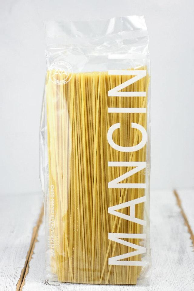 スパゲッティーニ 1.8mm 1kg パスタ・マンチーニ イタリア産 (Italian Spaghettini by Pasta Mancini) 商品