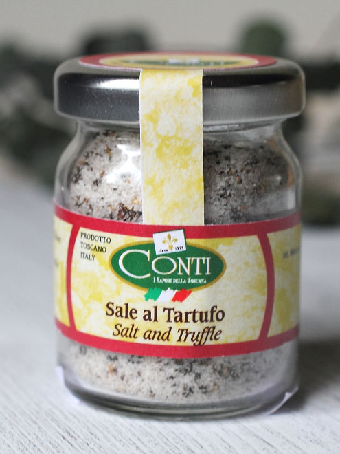 イタリア産 CONTI社 黒トリュフ塩 50g