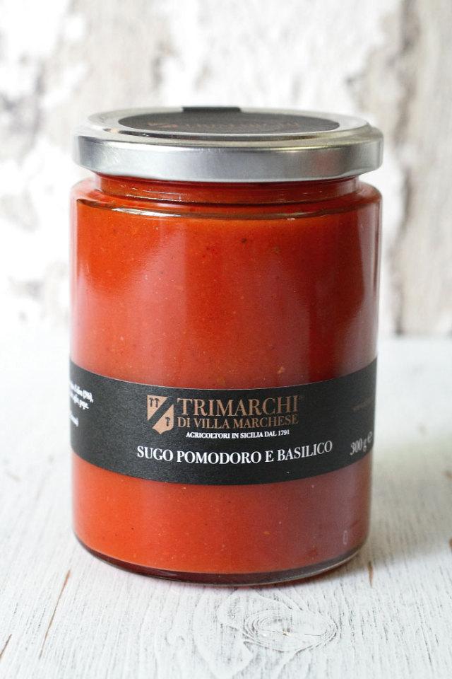 トマトソース バジル入 トリマルキ社 イタリア産 (Italian Tomato Sauce with Basil by Trimarchi) 商品