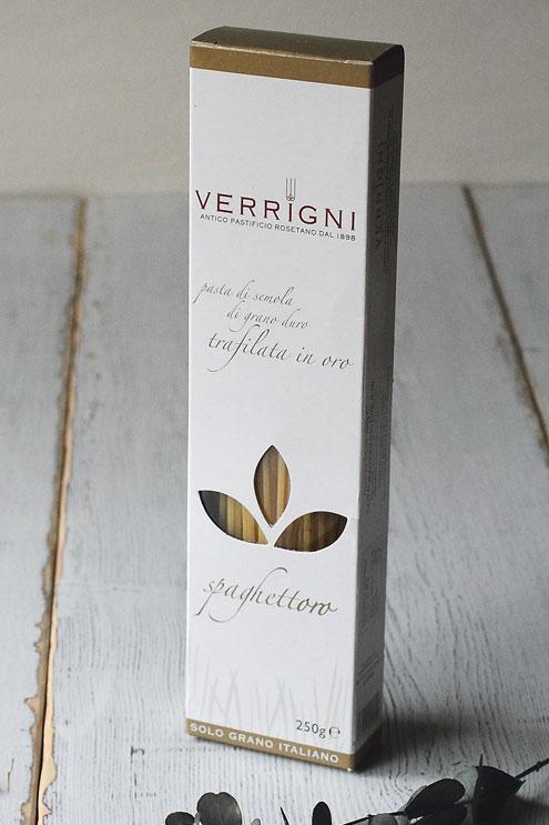 ヴェリーニ(VERRIGNI)のパスタ(ゴールド・ライン)