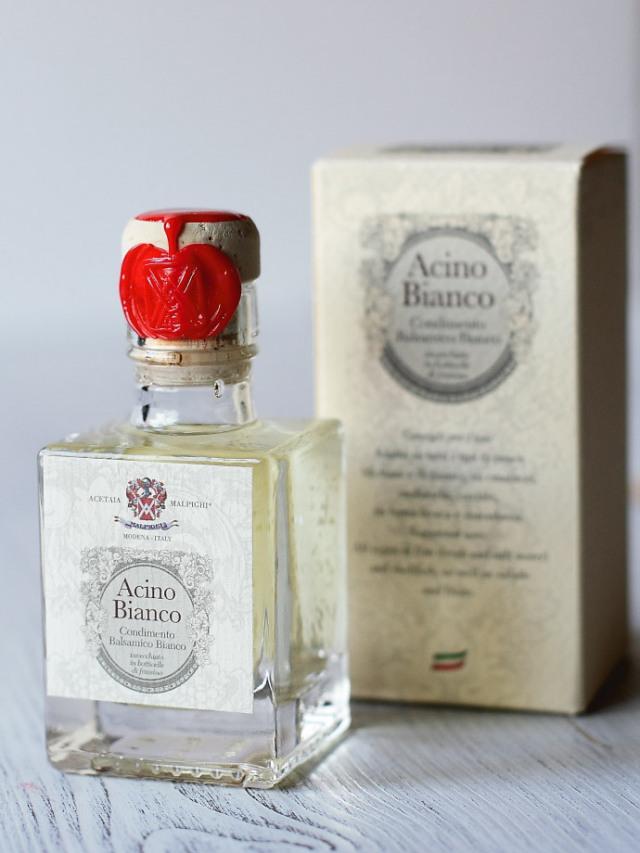 ホワイトバルサミコ酢「アチノ・ビアンコ」Malpighi社 (Italian White Balsamico ACINO Bianco) 商品