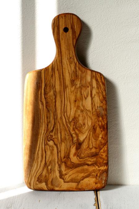 オリーブの木 カッティングボード サイズ:L