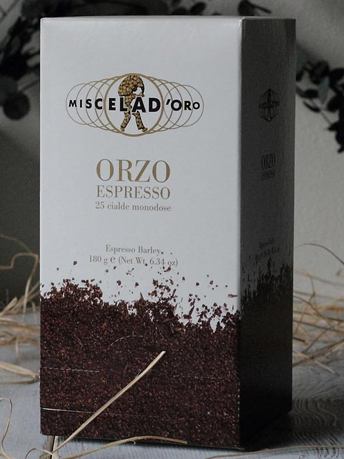 オルツォ 大麦コーヒー ミシェラドーロ社 イタリア産 (Italian Orzo drink coffee by Miscela d'oro)
