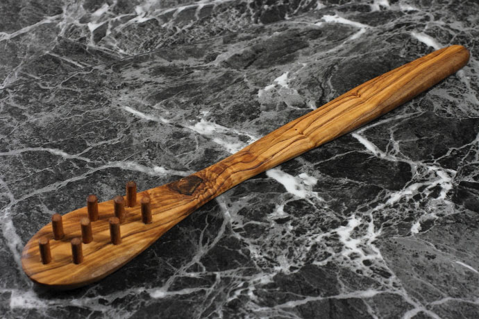 パスタ レードル アルテレニョ社 イタリア製 (Italian Pasta Ladle made by Arte Legno Olive Wood) 商品