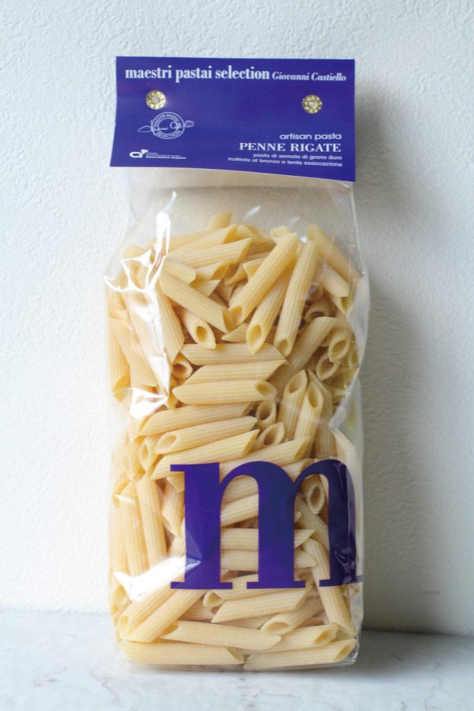 ペンネ・リガーテ パスタ マエストリ社 イタリア産 (Italian Penne Rigate by Pasta Maestri) 商品