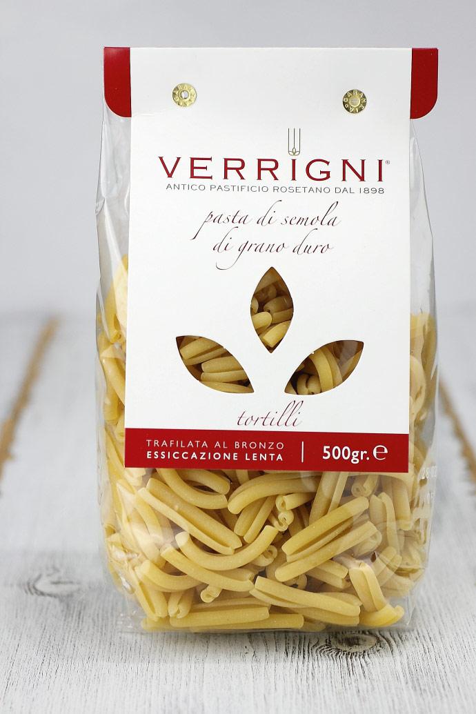 トルティッリ ベリーニ社 イタリア産 ショートパスタ (Italian short pasta Tortilli by Verrigni) 商品