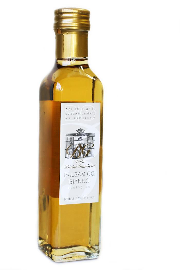 イタリア産 オーガニック 白バルサミコ酢 250ml ビシーニ社 (Italian organic white balsamico by Bisini)商品