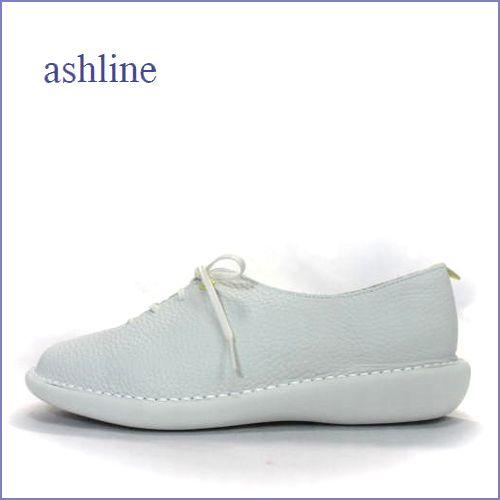 ashline  アシュライン  as20361iv アイボリー 【人気上昇中・・おしゃれシンプルデザイン。。ashline  すっきりレーススリッポン】