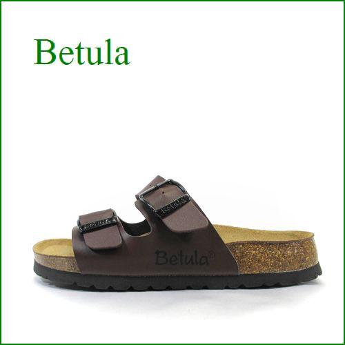 betula by birkenstock  べチュラ be7417dn  ダークブラウン 【2本のベルトで・・しっかりサポートする・・betula ブギー】