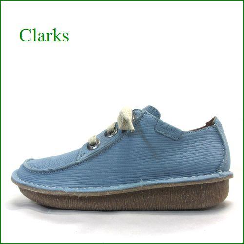 clarks クラークス cl14bugy ブルーグレイ 【リピーター様に愛される・・足の形を崩さないオブリック。。clarks  3アイレット・マニッシュ】