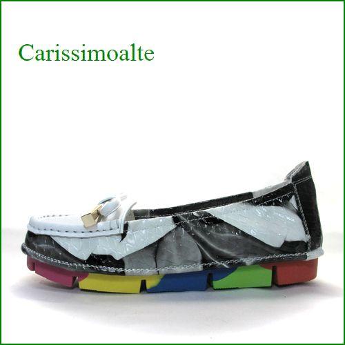 carissimoalte  カリシモアルテ  cs00312ivc  アイボリーコンビ 【可愛さ満開・・ carissimoalte  ソフトなソールの・・*リボン*スリッポン】