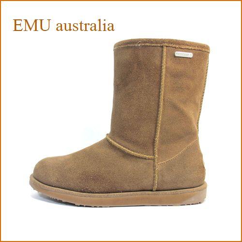 emu australia エミュー paterson Lo em10771ok オ—ク 【EMU ウォータープルーフ・シープスキンブーツ・emu australia パターソン・ロー。完全防水。】