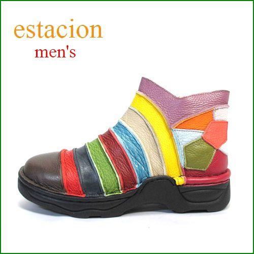 ESTACION エスタシオン メンズ et1007dma Dマルチ 【人気上昇ブランド↑↑↑ エスタシオン・・・限定!メンズ・アンクル】