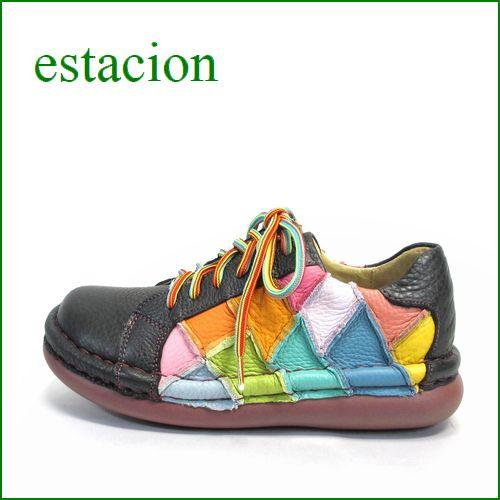 ESTACION エスタシオン et155bl ブラック 【ボリューム満点・・・エスタシオン すごく可愛い ひもひも マニッシュ】