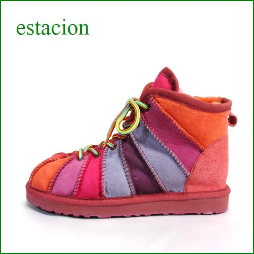 ESTACION エスタシオン et52or ORマルチ 【ファーまでカラフル・・・エスタシオン すごく可愛い ひもひもアンクル】