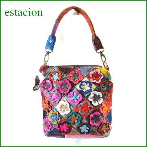 estacion バッグ エスタシオン鞄 etb790mt マルチ 【ワクワクしちゃう!可愛い。色。色。色々。。エスタシオン鞄 タップリ入る・元気なバッグ】