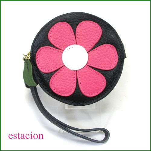estacion エスタシオン コインケース etw8028pk ピンク 【可愛いお花・・・いろいろ使える。エスタシオン コインケース】