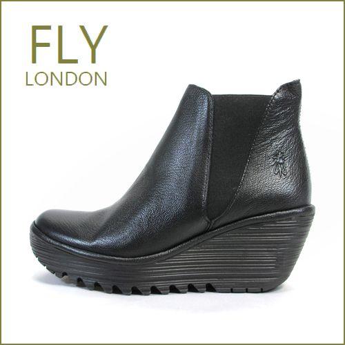 FLY LONDON YOSS  フライロンドン ヨス fy500431bl  ブラック 【フライの大本命コンフォートサイドゴア・・FLY LONDON YOSS・・足を包む最高の履き心地】【レディース】
